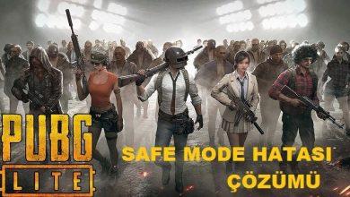 Photo of PUBG Güvenli Safe Mode Mesajı Oyun Başlamıyor Sorunu