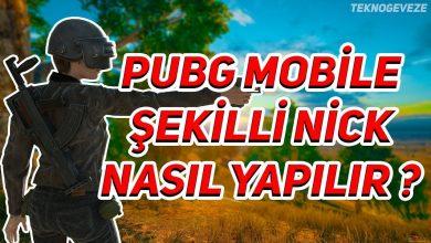 Photo of PUBG İsimleri: Mobile (Oyun) Havalı İsimler, Şekilli Nickler