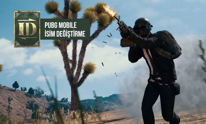 Pubg Mobile İsim Değiştirme Kartı